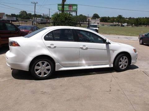 2013 Mitsubishi Lancer for sale at N & A Metro Motors in Dallas TX