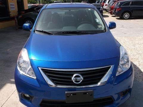 2013 Nissan Versa for sale at N & A Metro Motors in Dallas TX