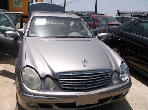 2003 Mercedes-Benz E-Class for sale at N & A Metro Motors in Dallas TX