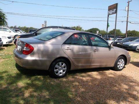 2003 Toyota Camry for sale at N & A Metro Motors in Dallas TX