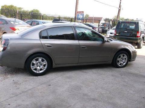 2006 Nissan Altima for sale at N & A Metro Motors in Dallas TX