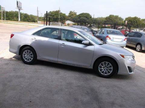 2014 Toyota Camry for sale at N & A Metro Motors in Dallas TX