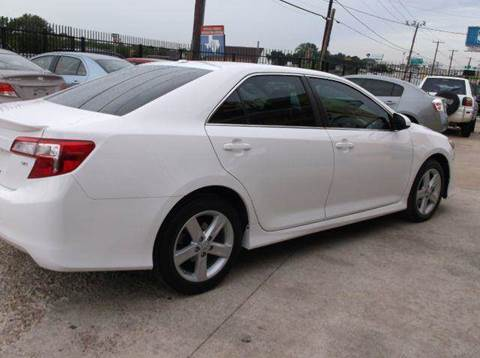 2012 Toyota Camry for sale at N & A Metro Motors in Dallas TX