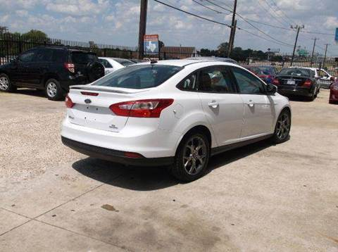2013 Ford Focus for sale at N & A Metro Motors in Dallas TX