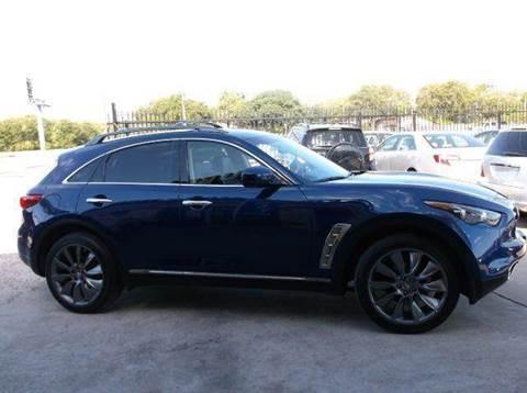 2012 Infiniti FX35 for sale at N & A Metro Motors in Dallas TX