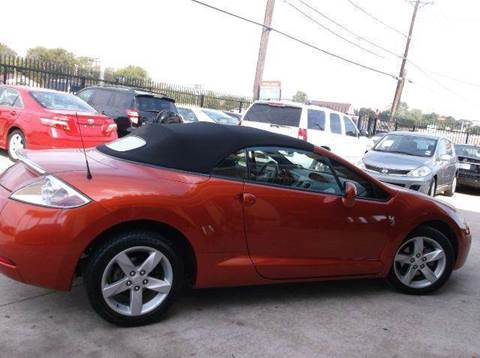 2007 Mitsubishi Eclipse Spyder for sale at N & A Metro Motors in Dallas TX