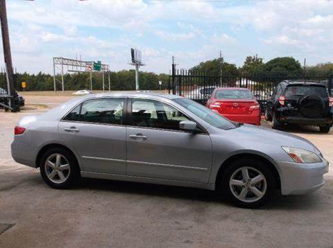 2005 Honda Accord for sale at N & A Metro Motors in Dallas TX