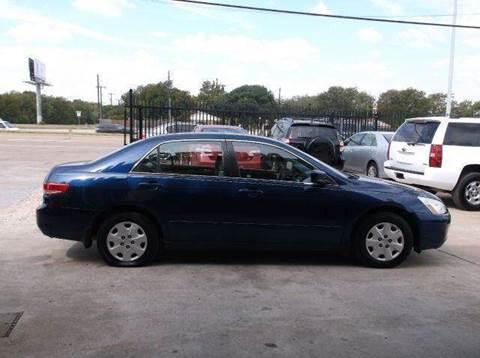 2004 Honda Accord for sale at N & A Metro Motors in Dallas TX