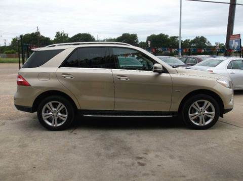 2012 Mercedes-Benz M-Class for sale at N & A Metro Motors in Dallas TX