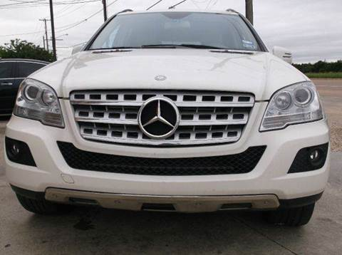 2011 Mercedes-Benz M-Class for sale at N & A Metro Motors in Dallas TX