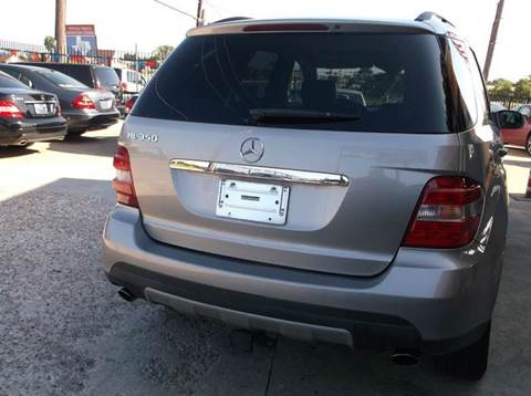 2006 Mercedes-Benz M-Class for sale at N & A Metro Motors in Dallas TX