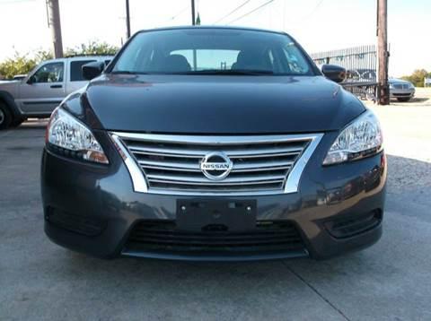 2014 Nissan Sentra for sale at N & A Metro Motors in Dallas TX