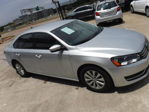 2014 Volkswagen Passat for sale at N & A Metro Motors in Dallas TX
