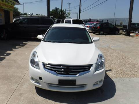 2012 Nissan Altima for sale at N & A Metro Motors in Dallas TX