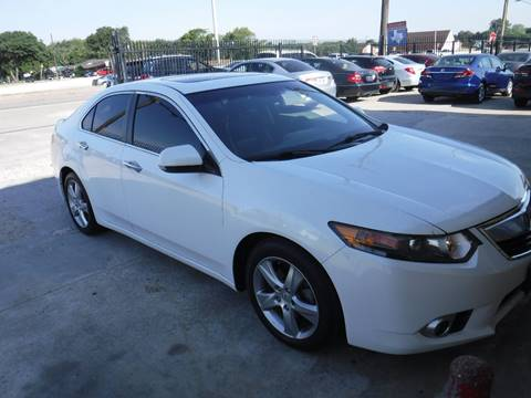 2012 Acura TSX for sale at N & A Metro Motors in Dallas TX