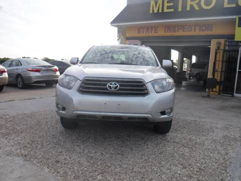 2009 Toyota Highlander for sale at N & A Metro Motors in Dallas TX