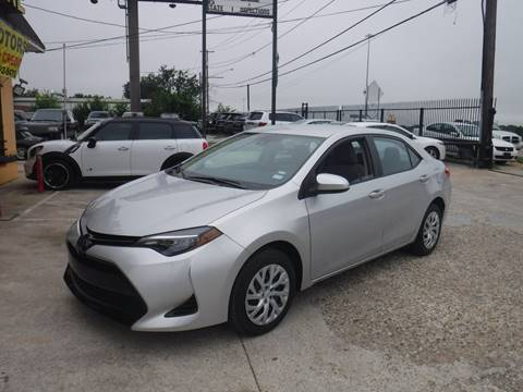2018 Toyota Corolla for sale at N & A Metro Motors in Dallas TX