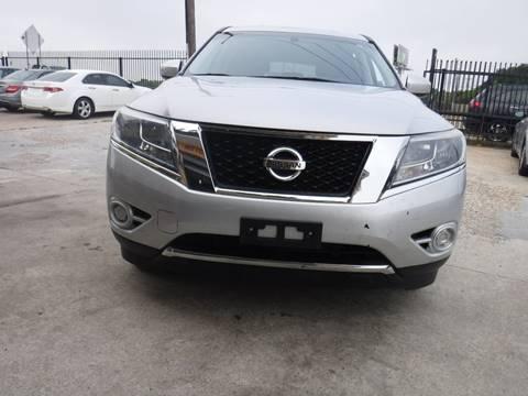 2013 Nissan Pathfinder for sale at N & A Metro Motors in Dallas TX