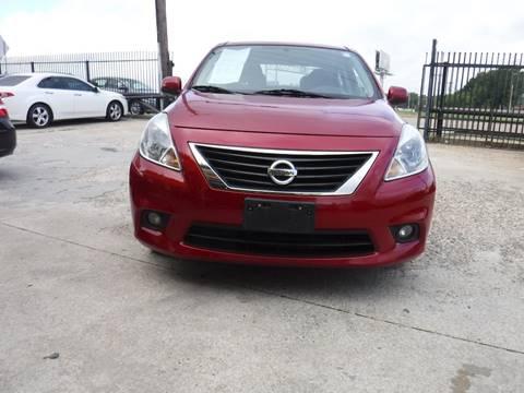 2014 Nissan Versa for sale at N & A Metro Motors in Dallas TX