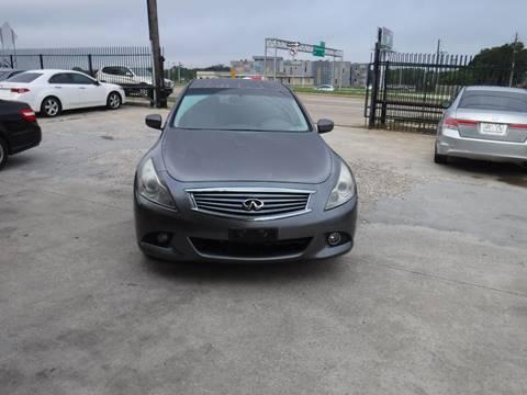 2012 Infiniti G25 Sedan for sale at N & A Metro Motors in Dallas TX