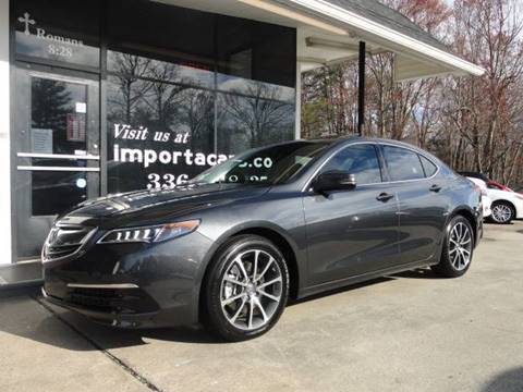 2016 Acura TLX for sale in Madison, NC
