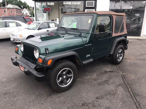 1999 Jeep Wrangler for sale in West Newfield, ME