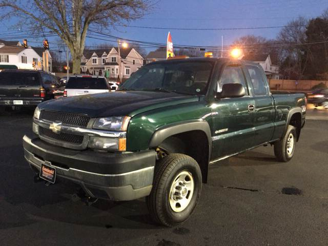 2004 Chevrolet Silverado 2500HD 4dr Extended Cab Work Truck 4WD SB - West Newfield ME