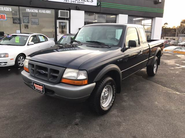 2000 Ford Ranger 2dr XL 4WD Extended Cab SB - West Newfield ME