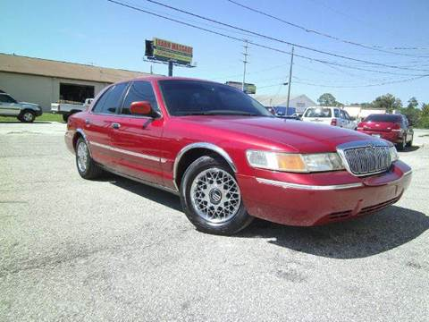 2001 Mercury Grand Marquis for sale at VICTORY LANE AUTO SALES in Port Richey FL