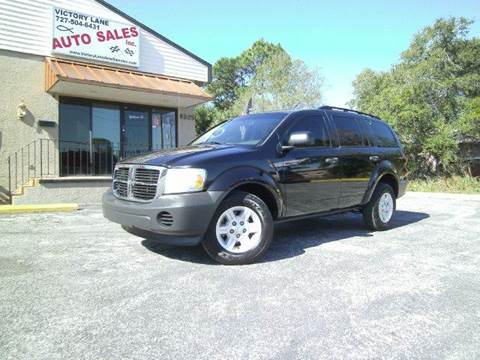 2007 Dodge Durango for sale at VICTORY LANE AUTO SALES in Port Richey FL