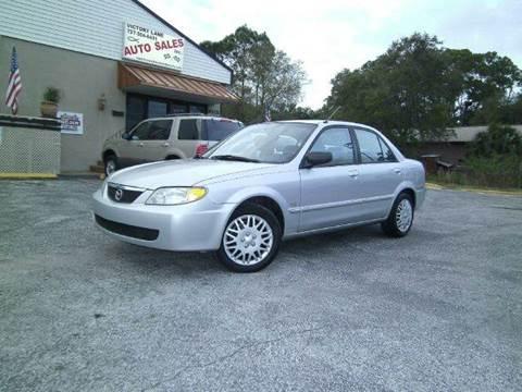 2001 Mazda Protege for sale at VICTORY LANE AUTO SALES in Port Richey FL