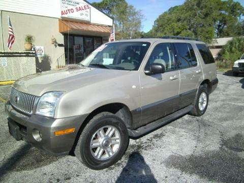 2004 Mercury Mountaineer for sale at VICTORY LANE AUTO SALES in Port Richey FL