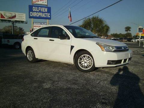 2008 Ford Focus for sale at VICTORY LANE AUTO SALES in Port Richey FL