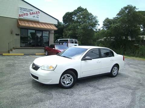 2007 Chevrolet Malibu for sale at VICTORY LANE AUTO SALES in Port Richey FL