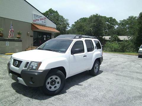 2010 Nissan Xterra for sale at VICTORY LANE AUTO SALES in Port Richey FL