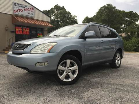 2005 Lexus RX 330 for sale at VICTORY LANE AUTO SALES in Port Richey FL
