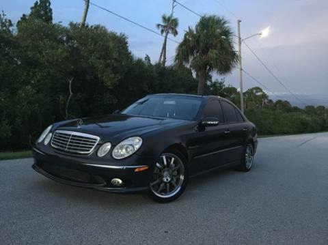 2003 Mercedes-Benz E-Class for sale at VICTORY LANE AUTO SALES in Port Richey FL