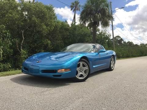 1998 Chevrolet Corvette for sale at VICTORY LANE AUTO SALES in Port Richey FL