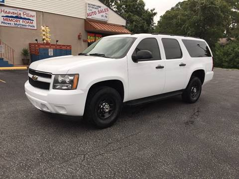 2011 Chevrolet Suburban for sale at VICTORY LANE AUTO SALES in Port Richey FL