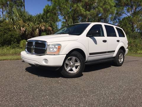 2006 Dodge Durango for sale at VICTORY LANE AUTO SALES in Port Richey FL