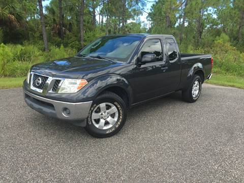 2010 Nissan Frontier for sale at VICTORY LANE AUTO SALES in Port Richey FL