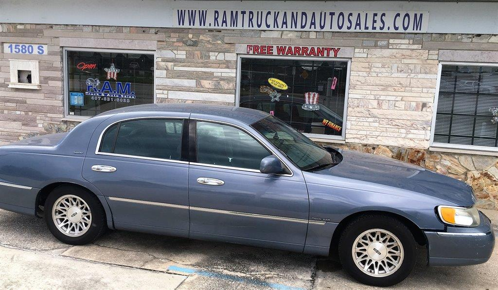 1999 Lincoln Town Car Signature 4dr Sedan In Longwood Fl Ram Truck