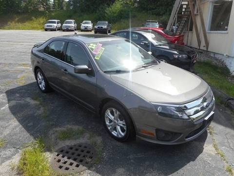 2012 Ford Fusion for sale in Norway, ME