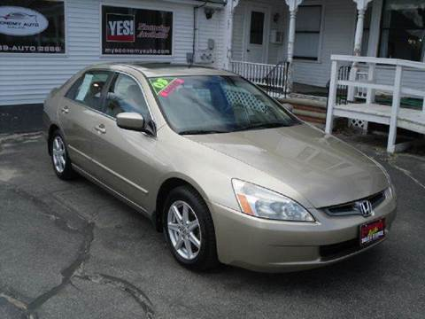 2003 Honda Accord for sale in Norway, ME