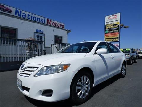 2010 Toyota Camry for sale in San Diego, CA