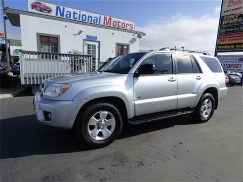 2007 Toyota 4Runner for sale in San Diego, CA