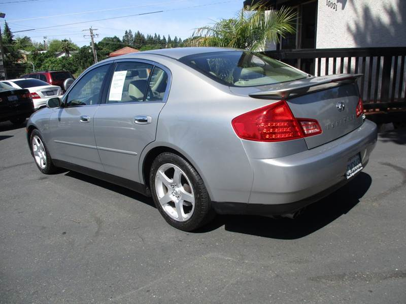 2003 Infiniti G35 Luxury 4dr Sedan w/Leather - Fair Oaks CA
