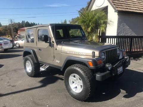 2003 Jeep Wrangler for sale in Fair Oaks, CA