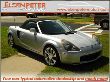 2000 Toyota MR2 Spyder for sale in Rockford, MN
