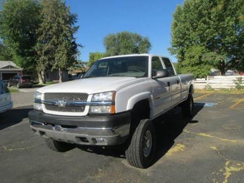 2003 Chevrolet Silverado 2500 for sale at Pioneer Motors in Twin Falls ID